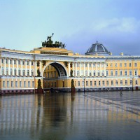 Арка Главного Штаба. г. Санкт-Петербург