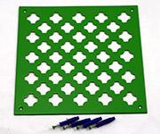 Вентиляционные решетки из алюминия