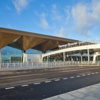 Новый терминал аэропорта Пулково.  г. Санкт-петербург