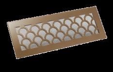 Вентиляционные решетки из латуни и нержавеющей стали