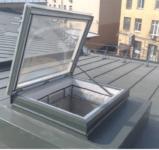 Люки и окна дымоудаления. Светопрозрачные конструкции